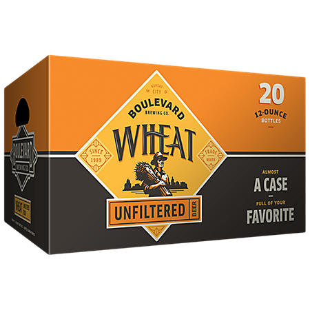 Boulevard Wheat Beer (12 fl. oz. bottle, 20 pk.)