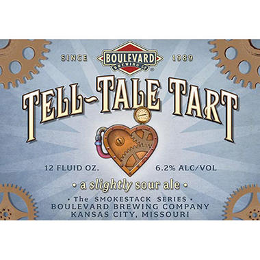 Boulevard Tell-Tale Tart (12 fl. oz. bottle, 4 pk.)