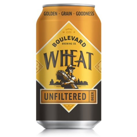 Boulevard Wheat Unfiltered Beer (12 fl. oz. can, 12 pk.)