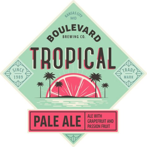 Boulevard Tropical Pale Ale (12 fl. oz. bottle, 6 pk.)