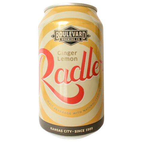 Boulevard Ginger Lemon Radler (12 fl. oz. can, 15 pk.)