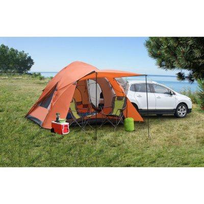 Backroadz 10x10-Ft 6-Person SUV Tent  sc 1 st  eDealinfo.com & Backroadz 10x10-Ft 6-Person SUV Tent (SAM-G13100) from Amazon.com ...