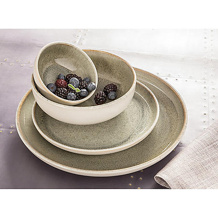 Resona Moss 16-Piece Dinnerware Set