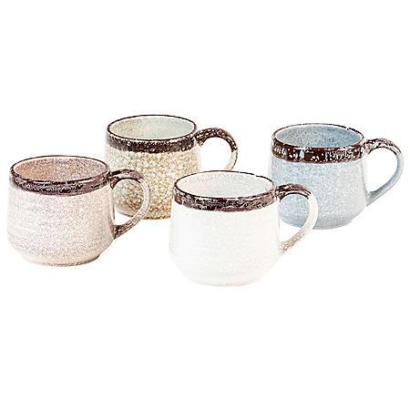 Sango Halford Mugs, Set of 4