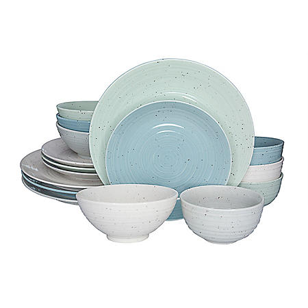 Sango Siterra Mixed 16-Piece Dinnerware Set