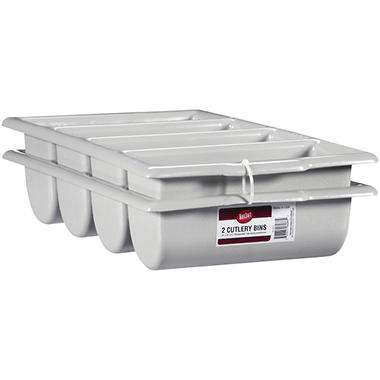 TableCraft Cutlery Bins - 2 ct.