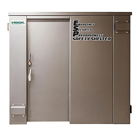 Swisher ESP Safety Shelter (25-Person Private/15-Person Business)
