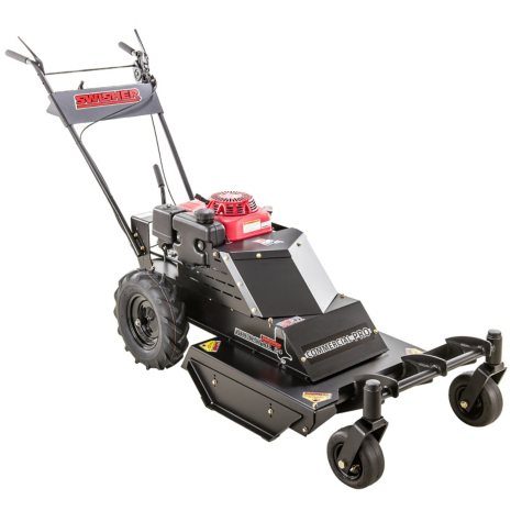 "Swisher 10.2HP Honda 24"" Commercial Pro Walk Behind Rough Cut with Casters and Bonus Replacement Blade"