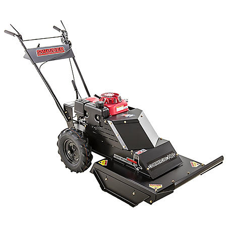 "Swisher 10.2HP Honda 24"" Commercial Pro Walk Behind Rough Cut with Bonus Replacement Blade"