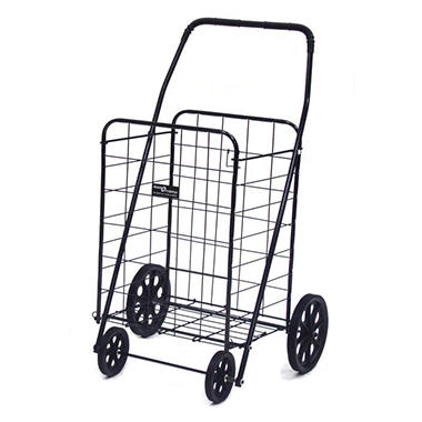 Jumbo-A Shopping Cart - Black