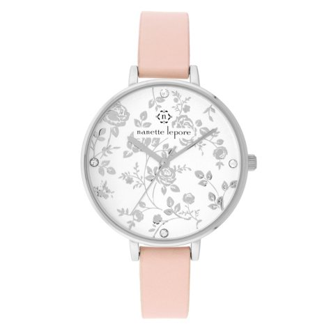 Nanette Lepore Women's Floral Dial Watch