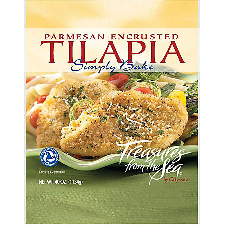 Treasures from the Sea Parmesan Tilapia - 40 oz.