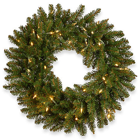 "National Tree Company 24"" Kingswood Fir Wreath"