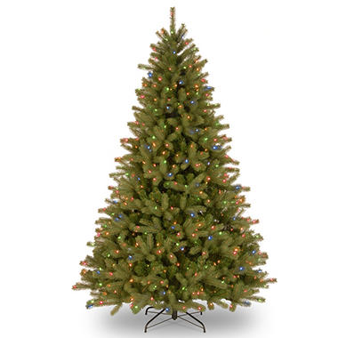 national tree company 75 pre lit lakewood spruce christmas tree - National Christmas Tree Company