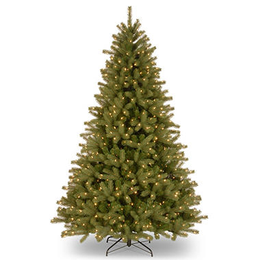 National Tree Company 9 ft. Pre-Lit Lakewood Spruce Christmas Tree with 900 dual-color LED lights and 2,874 branch tips