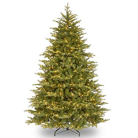 National Tree Company 7.5' Pre-Lit Nordic Spruce Medium Christmas Tree