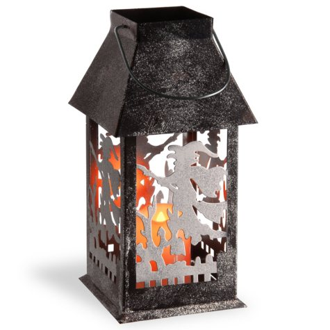 Witch Lantern with Candle