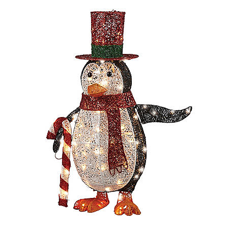 "National Tree Co. 36"" Pre-Lit Penguin"