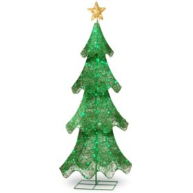 national tree co 60 christmas tree outdoor decoration - Sams Club Outdoor Christmas Decorations
