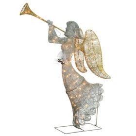 "National Tree Co. 48"" Pre-Lit Trumpeting Angel"