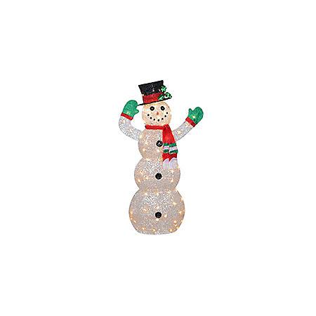 """National Tree Co. 48"""" Pre-Lit Snowman Decoration"""