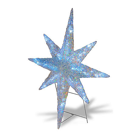 "National Tree Co. 42"" Pre-Lit Ice Crystal Star"