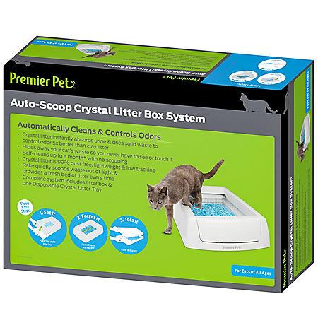 Premier Pet Auto Scoop Automatic Litter Box