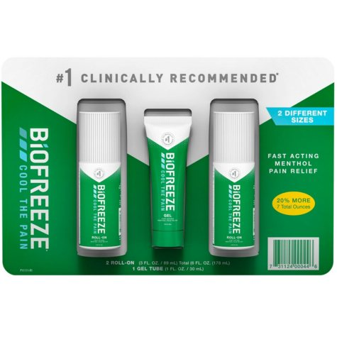 BIOFREEZE Cold Therapy Pain Relief