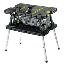 Keter Adjustable Folding Work Table