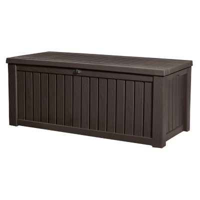 Keter Rockwood 150-Gallon Outdoor Plastic Storage Box  sc 1 st  Samu0027s Club & Sheds u0026 Outdoor Storage - Samu0027s Club