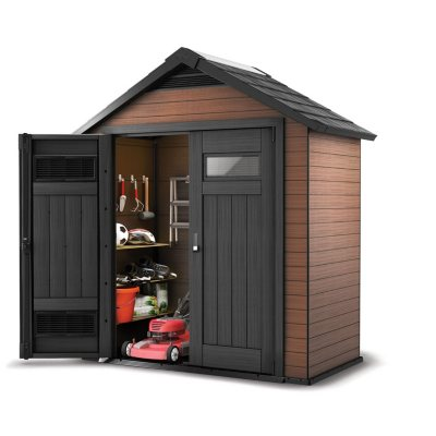 Incroyable Wood And Plastic Composite Outdoor Storage Shed
