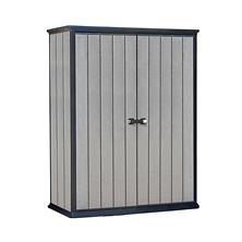 Keter High Store Resin Vertical Outdoor Storage Shed