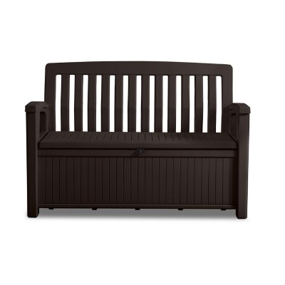 Keter 60 Gallon All Weather Outdoor Patio Storage Bench Sams Club