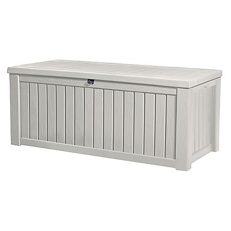 Keter Rockwood 150-Gallon Outdoor Plastic Storage Box