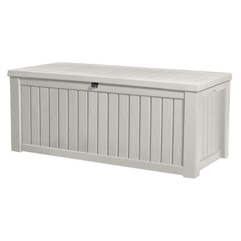 Rockwood 150-Gallon Outdoor Storage Deck Box, White