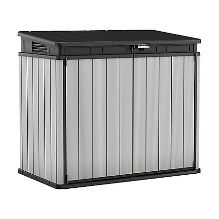 Keter Premier XL 41 cu. ft. Horizontal Storage Shed