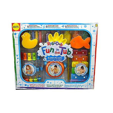 Rub-a-Dub Fun in the Tub Activity Set