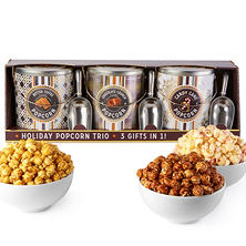Popcorn Tin Trio - Metallic