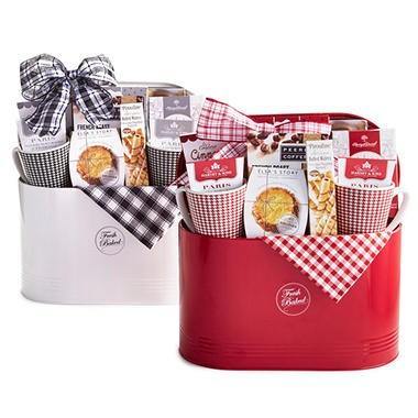 Fresh Baked Basket (various colors)