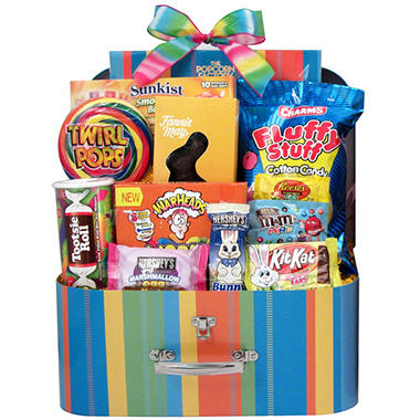 Large Easter Suitcase Box Gift (Various Colors)