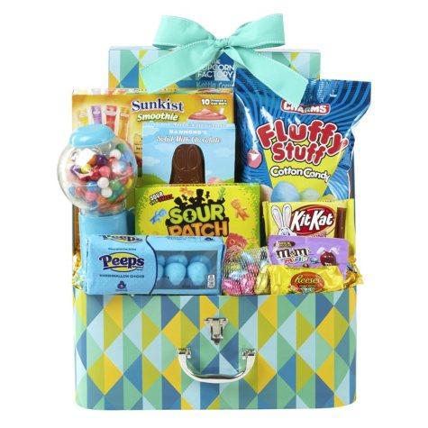 Bright Suitcase Box, Blue (36.73 oz.)