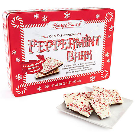 Harry & David Peppermint Bark Tin (23.6 oz.)