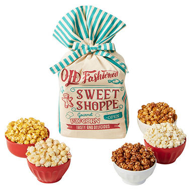 Holiday Popcorn Bag, Various Colors (53 oz.)