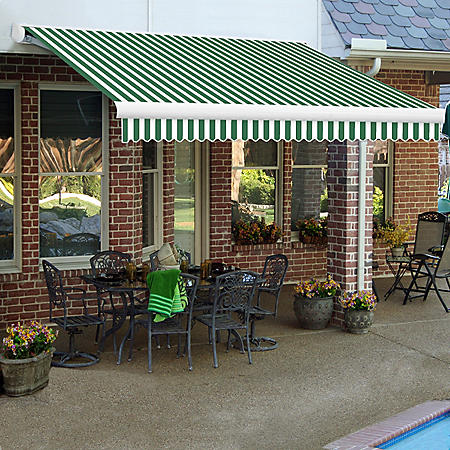 XX  12 ft. Key West Full-Cassette Left Motor with Remote Retractable Awning (120 in. Projection) - Choice of Available Colors