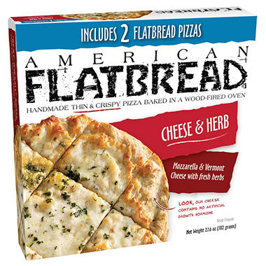 American Flatbread Cheese & Herb (27.06 oz., 2 pk.)