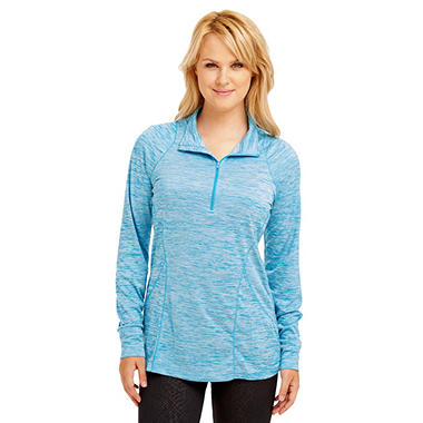 Bally Total Fitness Contouring 1/4 Zip Pullover
