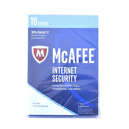 McAfee 2017 Internet Security 10-Device