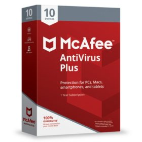 McAfee Antivirus Plus 2018 10-Device