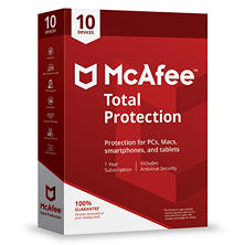 McAfee Total Protection 2018 10-Device