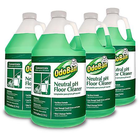 OdoBan Earth Choice Neutral pH Floor Cleaner (4 pk.)
